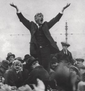 Jim-Larkin-on-OConnell-Street-1923-MY-LOCKOUT