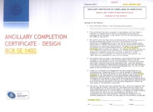 ACEI Draft ACC (BCR SE 1402)