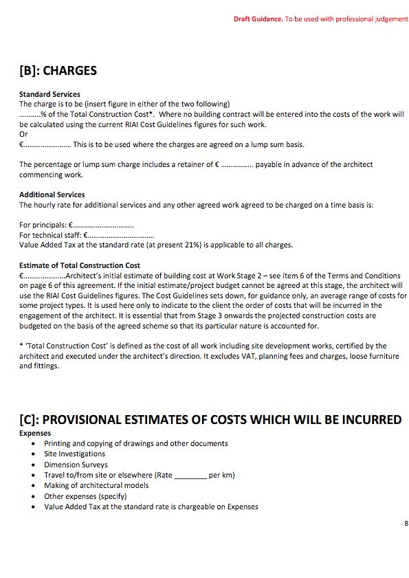 Riai Standard Form Of Contract Pdf Download