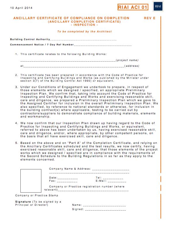 practical completion inspection checklist pdf
