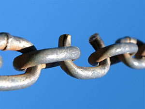Broken-Chain-Link