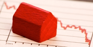 Red-house-down-rates-decrease-graph