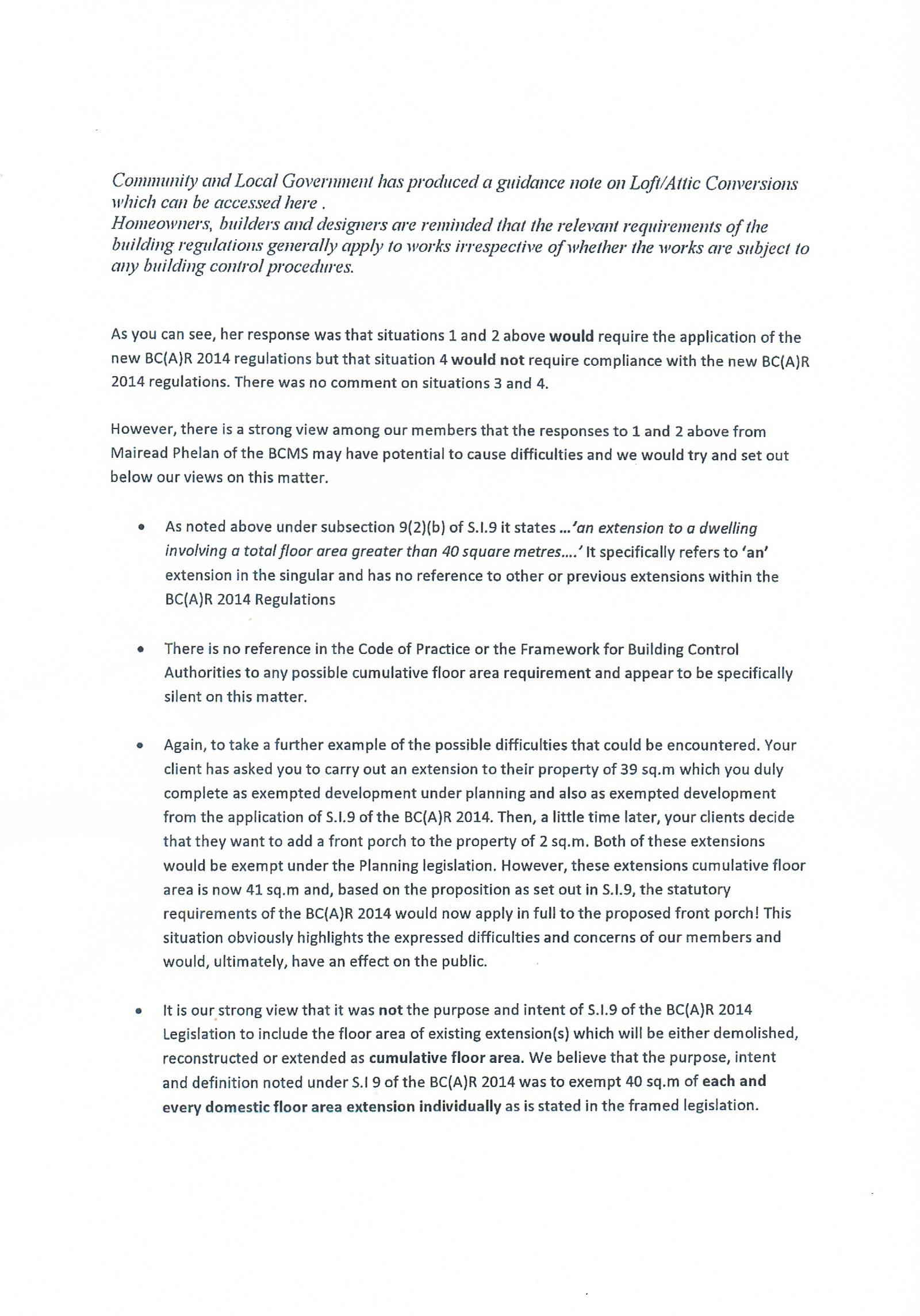 Riai Practice News 40sqm Bc A R Si 9 Exemption Bregsforum